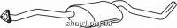 Ferroz 07.205 Средний глушитель OPEL OMEGA A   sedan  3.0i 12V    86-90