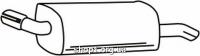 Ferroz 07.234 Глушитель задняя часть OPEL CORSA C   hatchback  1.0i 12V  cat  9/00-