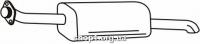 Ferroz 07.276 Глушитель задняя часть OPEL ASTRA II   combi  1.4 - 2.0i 1.7DTi  cat  98-04