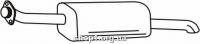 Ferroz 07.280 выхлопной глушитель OPEL ZAFIRA A     2.0Di 2.0DTi  cat  99-05