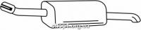 Ferroz 07.283 выхлопной глушитель OPEL ZAFIRA A     2.0DTi 2.2DTi  cat  38417