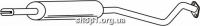Ferroz 07.297 резонатор глушителя OPEL ASTRA II   hatchback sedan  1.6i 16V 1.8i 16V 2.0i 16V  cat  98-04