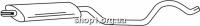 Ferroz 07.331 Средний глушитель OPEL VECTRA C   hatch sedan  1.6i 16V 1.8i 16V  cat  04/02-06/09
