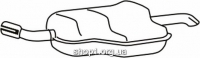 Ferroz 07.340 Глушитель OPEL ASTRA III   hatch combi coupe  1.4i 16V 1.6i 16V 1.8i 16V  cat  04-