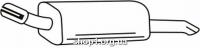 Ferroz 07.355 Глушитель задняя часть OPEL ASTRA III   hatch combi coupe  1.9CDTi  cat  4/04-
