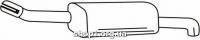 Ferroz 07.370 Глушитель выхлопных газов конечный OPEL ASTRA III   sedan  1.6i 16V 1.8i 16V  cat  07-