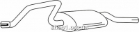 Ferroz 07.376 глушитель на  OPEL AGILA     1.0i 12V  cat  9/00-4/08