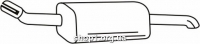 Ferroz 07.383 глушитель на  OPEL ASTRA II   hatch  2.0DTi TD 2.2DTi  cat  38055