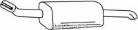 Ferroz 07.385 резонатор OPEL ASTRA II   sedan  2.0Di TD 2.0DTi  cat  9/98-04