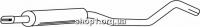 Ferroz 07.402 резонатор OPEL CORSA C COMBO     1.4i 16V 1.6i 16V  cat  10/01-07/04