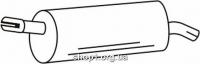 Ferroz 07.412 задняя часть глушитель OPEL MERIVA A     1.4i 16V 1.6i 1.6i 16V  cat  05/03-07/10