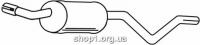 Ferroz 08.005  (08.05)  задняя часть глушитель FORD ESCORT   hatchback combi  1,1    80-83