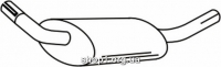 Ferroz 08.007  (08.07)  Глушитель задняя часть FORD ESCORT   cabr hatch combi  1.4i 1.6XR3i 1.6 1.6i  cat  83-90