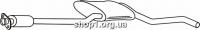 Ferroz 08.011  (08.11)  резонатор выхлопной системы FORD SIERRA   hatchback combi  1.6 1.6E 2.0 2.3D    82-85