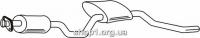 Ferroz 08.012  (08.12)  Средний глушитель FORD SIERRA   hatchback combi  1.8 2.0    84-85