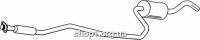 Ferroz 08.020  (08.20)  резонатор выхлопной системы FORD FIESTA     1.0 1.1    4/89-7/90