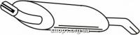 Ferroz 08.023  (08.23)  глушители для FORD FIESTA     1.4i  cat  4/89-93