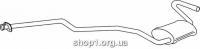 Ferroz 08.024  (08.24)  резонатор выхлопной системы FORD ESCORT   hatchback combi  1.3 1.6 1.6XR3    80-83