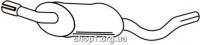 Ferroz 08.025  (08.25)  Задний глушитель FORD ESCORT   hatchback combi  1.3 1.6 1.6XR3    80-83