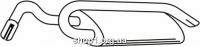 Ferroz 08.032  (08.32)  глушители FORD ESCORT   cabrio hatchback  1.6i  cat  90-95