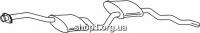 Ferroz 08.033  (08.33)  Средний глушитель FORD SIERRA   combi sedan hatch  2.0i    85-89