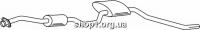 Ferroz 08.051  (08.51)  резонатор глушителя FORD SIERRA   combi sedan hatch  1.8 2.0    9/85-12/89