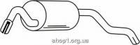 Ferroz 08.056  (08.56)  Глушитель задняя часть FORD ESCORT   hatchback  1.3i  cat  10/91-1/95