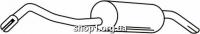 Ferroz 08.057  (08.57)  Глушитель задняя часть FORD ESCORT   sedan combi  1.3i  cat  91-95