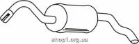 Ferroz 08.058  (08.58)  задняя часть глушитель FORD ESCORT   hatchback  1,3    10/90-8/92