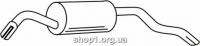 Ferroz 08.064  (08.64)  глушитель на  FORD ESCORT   hatchback cabrio  1.4 1.4i 1.6 1.6i  cat  90-01