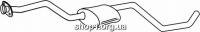 Ferroz 08.066  (08.66)  резонатор глушителя FORD ESCORT   cabrio hatchback  1,6    10/90-8/92