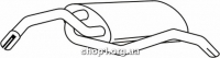 Ferroz 08.071  (08.71)  глушитель на  FORD ESCORT   cabrio hatchback  1.6i 16V  cat  10/90-94