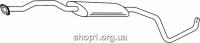 Ferroz 08.073  (08.73)  Средний глушитель FORD ESCORT   hatch cabr sed combi  1.6iGT 16V 1.6i 16V  cat  1/95-9/01