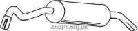 Ferroz 08.081  (08.81)  купить глушитель FORD ESCORT   sedan combi  1.8TD  cat  10/93-9/00