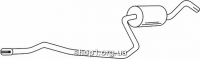 Ferroz 08.082  (08.82)  Труба выхлопной системы FORD FIESTA     1.3i  cat  5/91-92