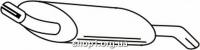 Ferroz 08.089  (08.89)  глушители для автомобилей FORD FIESTA     1.4i    94-95