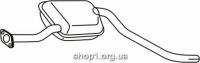 Ferroz 08.097  (08.97)  Средний глушитель FORD SIERRA   hatch sedan combi  1.6i 1.8  cat  88-94