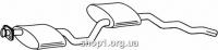 Ferroz 08.099  (08.99)  Средний глушитель FORD SIERRA   combi hatchback  2.0i    10/84-8/85