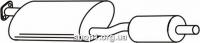 Ferroz 08.122 Средний глушитель FORD TRANSIT   SWB80-150 LWB100-190  2.5D    88-91
