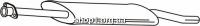 Ferroz 08.123 резонатор FORD TRANSIT   SWB80-150 LWB100-190  2.5D    91-94