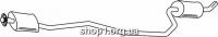 Ferroz 08.124 резонатор FORD FIESTA   courier  1,3    91-95