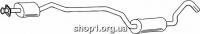 Ferroz 08.126 резонатор глушителя FORD ESCORT   cabrio hatchback  1.6 XR3i    5/83-8/89