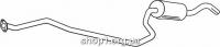 Ferroz 08.128 Средний глушитель FORD FIESTA     1.8D  cat  91-95