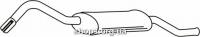 Ferroz 08.132 глушители для автомобилей FORD FIESTA   courier  1,3    91-95