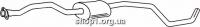 Ferroz 08.150 резонатор глушителя FORD ESCORT   express  1,3    90-94
