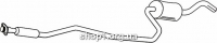 Ferroz 08.156 Глушитель средняя часть FORD FIESTA     1.0 1.1    90-92