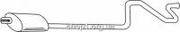 Ferroz 08.165 глушитель автомобиля FORD TRANSIT   LWB 100-190  2.5D    8/94-7/96