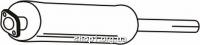 Ferroz 08.169 Глушитель средняя часть FORD TOURNEO   SWB 80-150  2.5D 2.5TD  cat  96-00