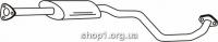 Ferroz 19.052  (19.52)  резонатор глушителя DAEWOO TACUMA     1.6i 16V - 2.0i 16V  cat  /00-