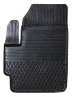 Коврик резиновый для MITSUBISHI LANCER (2008-  ) передній MatGum (<FX-лівий> - чорний)